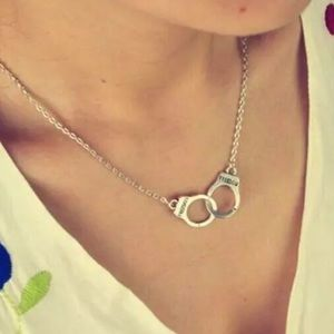Jewelry - Partners in Crime Handcuffs Necklace. 🆕